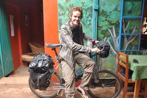 Rob the English cyclist
