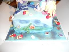 Mermaid Cake (cupsandcakes) Tags: sea cake mermaid
