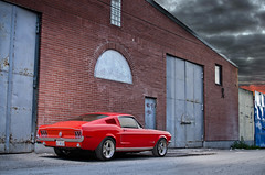 fastback (R.Norgren) Tags: ford back fast t5 mustang gt fastback elanore