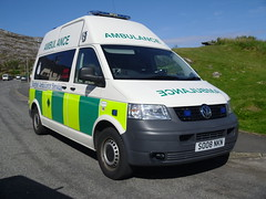 scottish ambulance service (corkyceosboy) Tags: clee hill roller ambulance police car emergency services western isles council j mackenzie laxay john mackay horgabost isle oif lewis harris stornoway nynas tankers harry lawson ltd spray chip 2011 volvo mercedes merc foden chipper roddy danny corkyceosboy so08 so08nkn