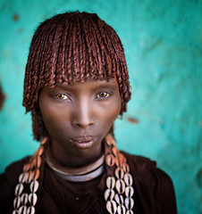 Etiopia (mokyphotography) Tags: etiopia southetiopia africa people portrait persone ritratto woman donna tribù tribe tribal eyes ethnicity etnia ethnicgroup valledellomo viso face omovalley