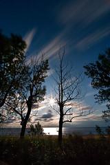 K20D3468 (Bob West) Tags: longexposure nightphotography moon ontario lakeerie greatlakes fullmoon moonlight nightshots rondeauprovincialpark southwestontario bobwest k20d pentax1224 gaju2810