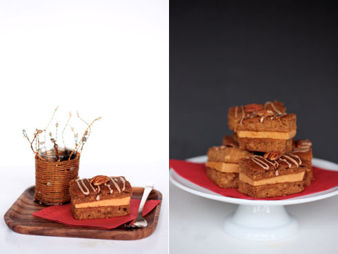 Pumpkin Gingerbread Ice Cream Sandwiches [duo]