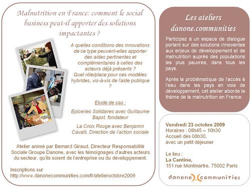 Atelier danonecommunities #2
