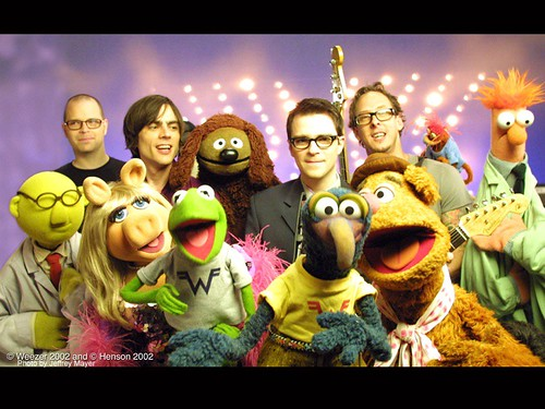 A little known fact is that Miss Piggy and Rivers Cuomo used to date.
