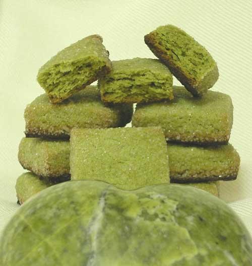 pastitas te verde