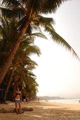 Coco shore (bLaNk_) Tags: sunset boracay skimboarding bora