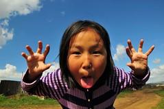 Mongolie (4) (alexandre.sattler) Tags: sky horses clouds landscape landscapes desert sheep mongolia ciel nuage steppes paysages gobi ger mongolie berger yourte nomade cielbleu bleusky cheveaux nomades bergre yourtes sheepered