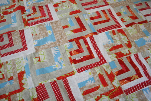 Red Polka Dot Quilt