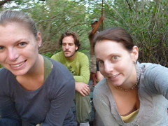 Maree, me and Jules - On the mangroves tour.
