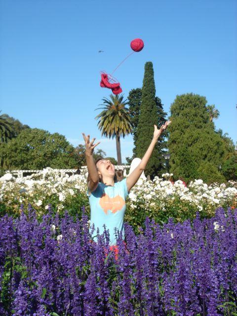 Primavera no Rosedal de Palermo