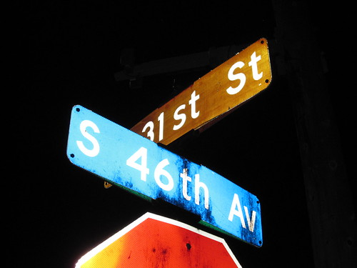 E 31st St at S 46th Ave