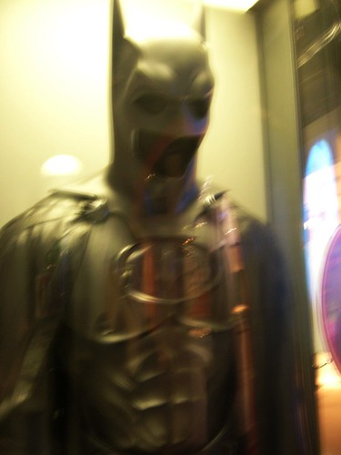 george clooney batman suit