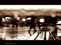 Ve yamurun her biriyle, bilirsin seni daha fazla severim ('sema) Tags: rain fotoraf yamur sadece manasz