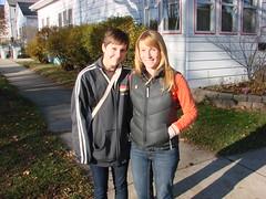 Maddie Huebner and Trish Husar