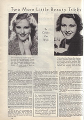 1932_04 (Amy Jeanne) Tags: beauty 1932 vintage 1930s tricks tips advice francesdee juneclyde