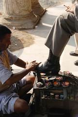 On the Job (Mayank Austen Soofi) Tags: place delhi connaught walla