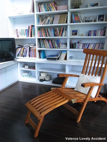 三星張宅_客廳的躺椅