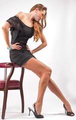 How long is my leg? (Lovro67) Tags: girl beauty fashion studio 50mm longleg d700 superleg