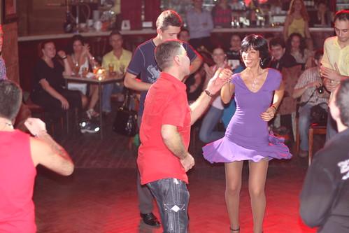 ??????-????????? ? ??????????? | Salsa-party in Bernardazzi club, Odessa, Ukraine