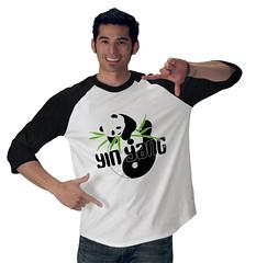 YIN YANG panda TOUR tshirt front (electra-cute) Tags: panda tshirt yinyang zazzle