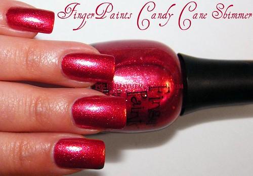 FingerPaints Candy Cane Shimmer