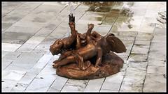 Sin agua (miguelcharrito) Tags: gardens real san fuente escultura estatua jardines foutain granja palacio ildefonso