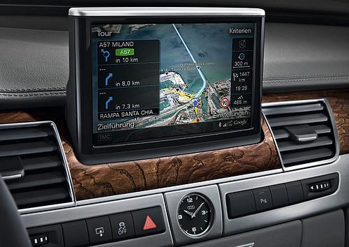 Audi A8 MMI NAVI 2010