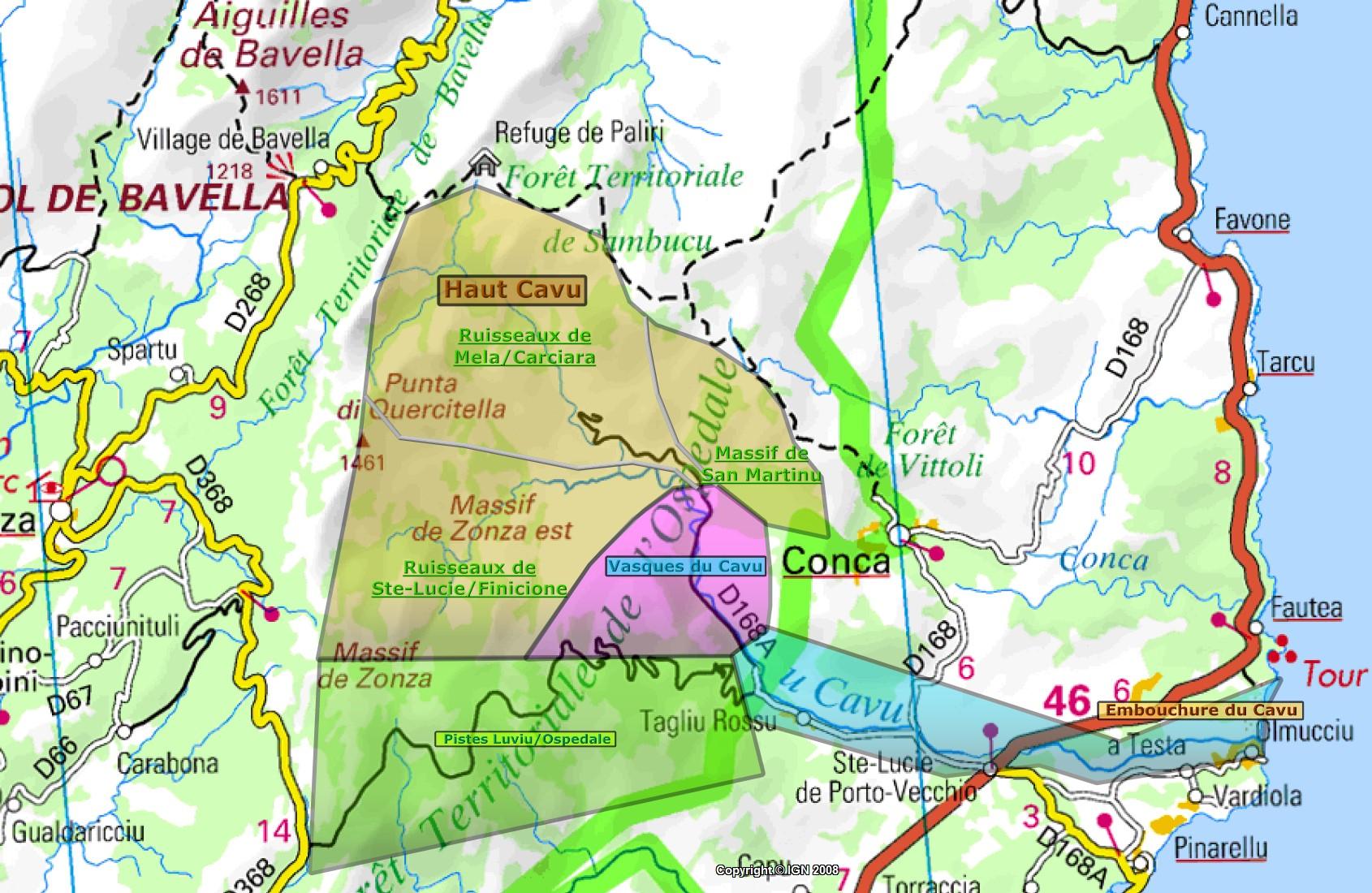 La Haute Vall E Du Cavu 1 Re Partie Blog Corse Sauvage