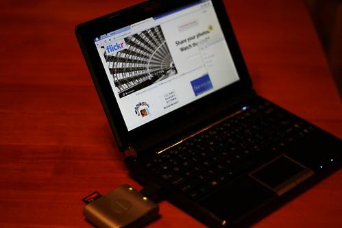 Chrome OS Card Reader