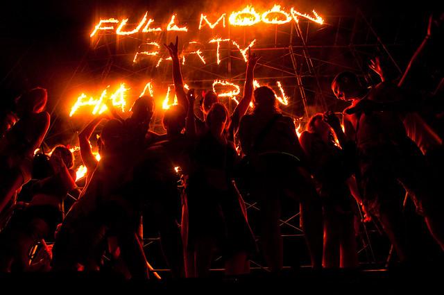 Full Moon Party Koh Phangan May 2011