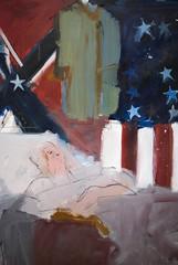 The Last Civil War Veteran, 1961 (Maulleigh) Tags: art museum last de war young civil larry rivers deyoung veteran fraud 1961 imposter the