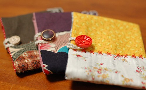 Button pouch