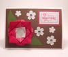 Origami Flower Valentine's Day Card