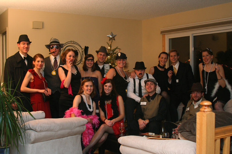 Murder Mystery Group Picture