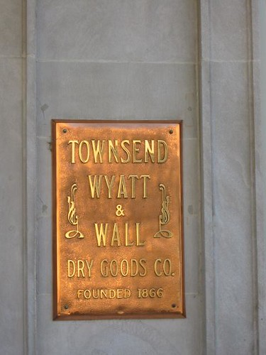 Townsend & Wall Sign