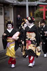 Kamishichiken Shigyoshiki '10 #6 (Onihide) Tags: japan kyoto maiko geiko    kamishichiken  kagai ichiteru shigyoshiki   onihide ichimme