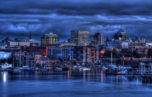 Victoria's Skyline (HDR)
