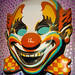 Giant Evil Clown Head