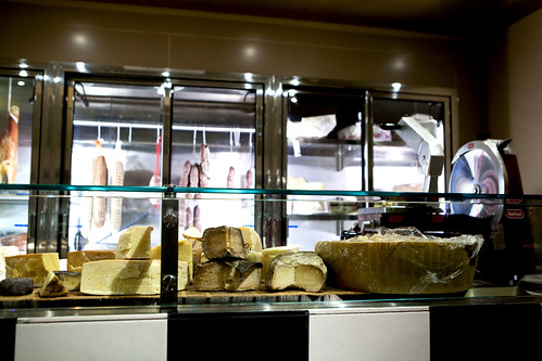 Salumi & Cheese area