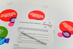 Enterprising Places Network marketing materials