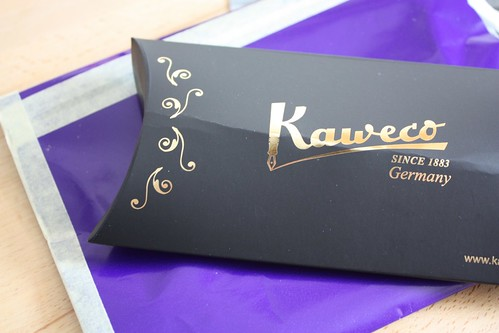 The Kaweco pen which I got from a friend. They used to be a sport journalists pen in the 30s