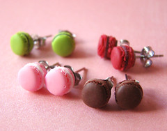Miniature Food - Various Macaron Earrings (PetitPlat - Stephanie Kilgast) Tags: fake jewelry bijoux bijou jewellery polymerclay fimo patisserie macaroon pastry earrings minifood artisan studs minis macaron bouclesdoreilles polyclay miniaturefood fauxfood miniaturen petitplat stephaniekilgast