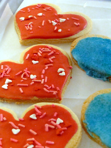 Valentine's Day Cookies at Coffeehouse on Cherry Street