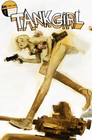Digital Comics Tank Girl