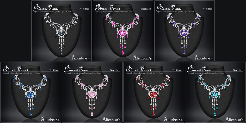Princess Venus necklace posters