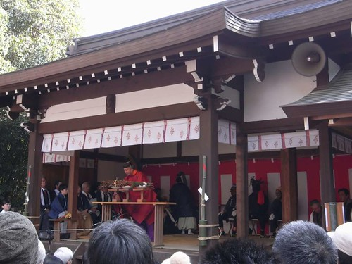 飛鳥坐神社(おんだ祭)@明日香村-04