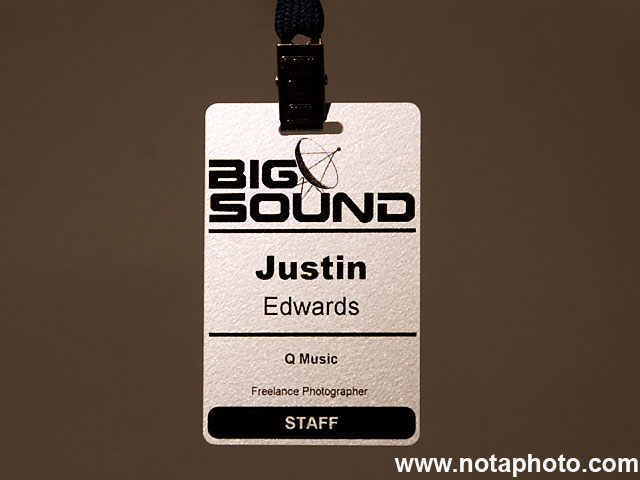 Big Sound 2009 Photo Pass