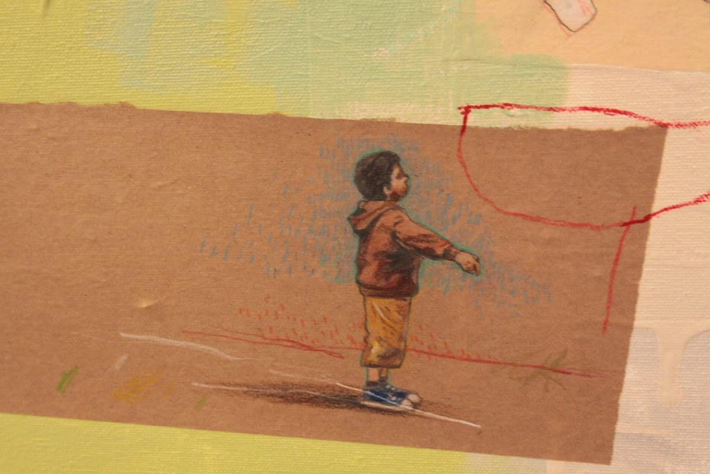 (Part of) Artist Statement by David Fullarton - $2750