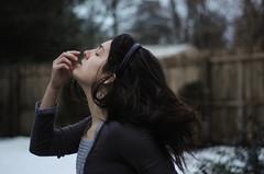 [フリー画像] [人物写真] [女性ポートレイト] [ラテン系女性] [目を閉じる] [横顔]      [フリー素材]
